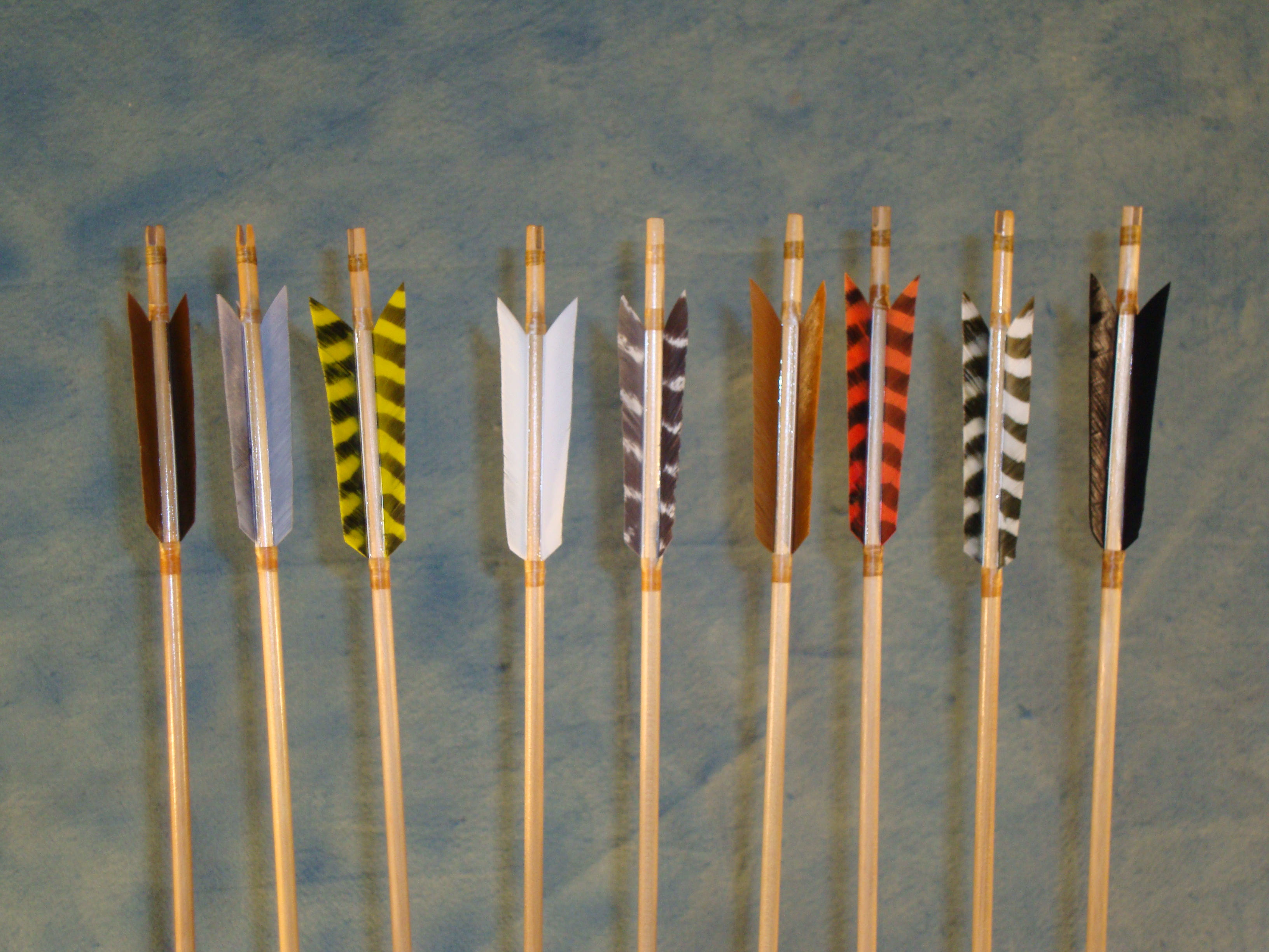 how to make medieval traditional arrows